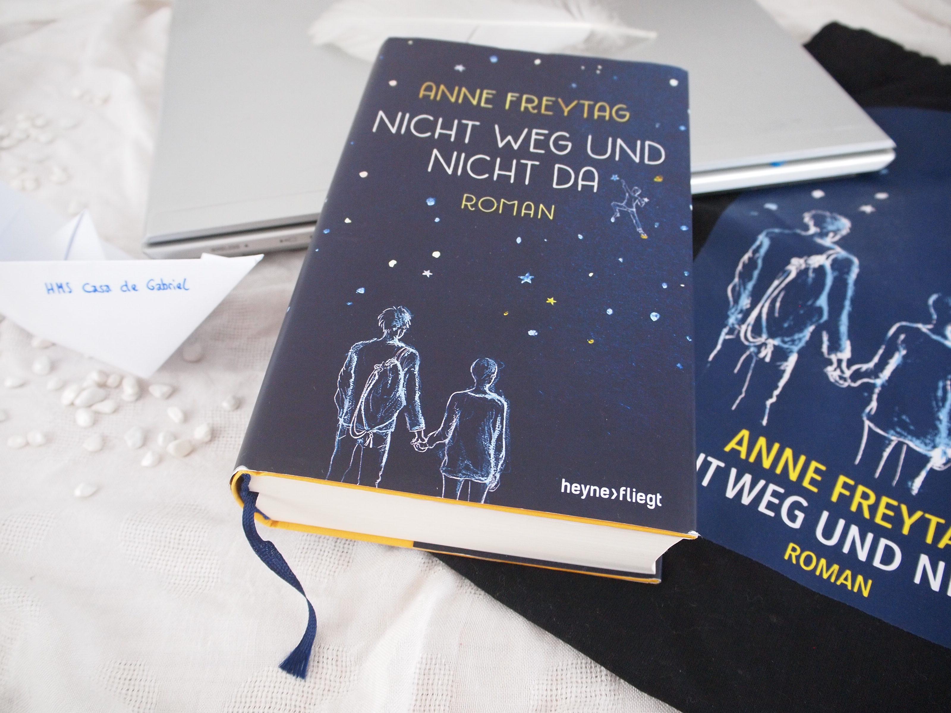 Anne Freytag - Nicht weg und nicht da