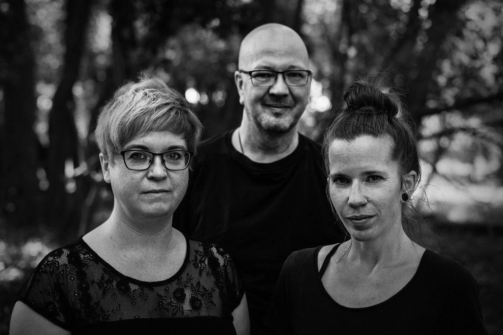 Martina  Noble, Werner Diefental und Sandra Limberg