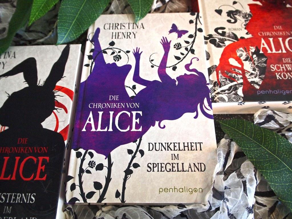 Christina Henry - Die Chroniken von Alice 03: Dunkelheit im Spiegelland