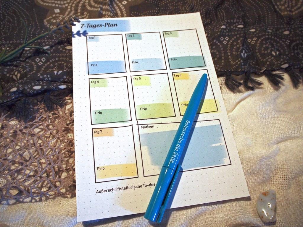 7-Tages-Plan von Denise Honermann