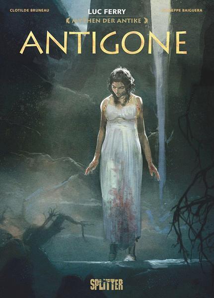 Graphic Novel: Mythen der Antike - Antigone (Luc Ferry)