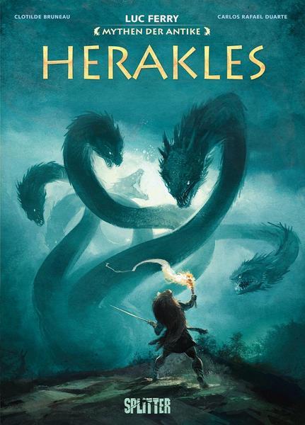 Graphic Novel: Mythen der Antike - Herakles (Luc Ferry)