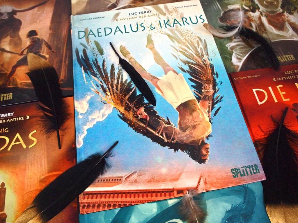 Graphic Novel: Mythen der Antike - Daedalus und Ikarus (Luc Ferry)