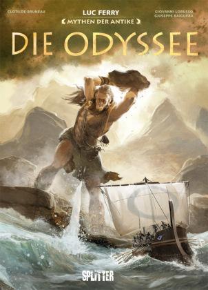Graphic Novel: Mythen der Antike - Die Odyssee (Luc Ferry)