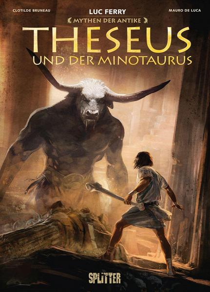Graphic Novel: Mythen der Antike - Theseus und der Minotaurus (Luc Ferry)