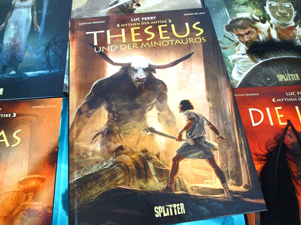 Luc Ferry - Mythen der Antike 08: Theseus und der Minotaurus